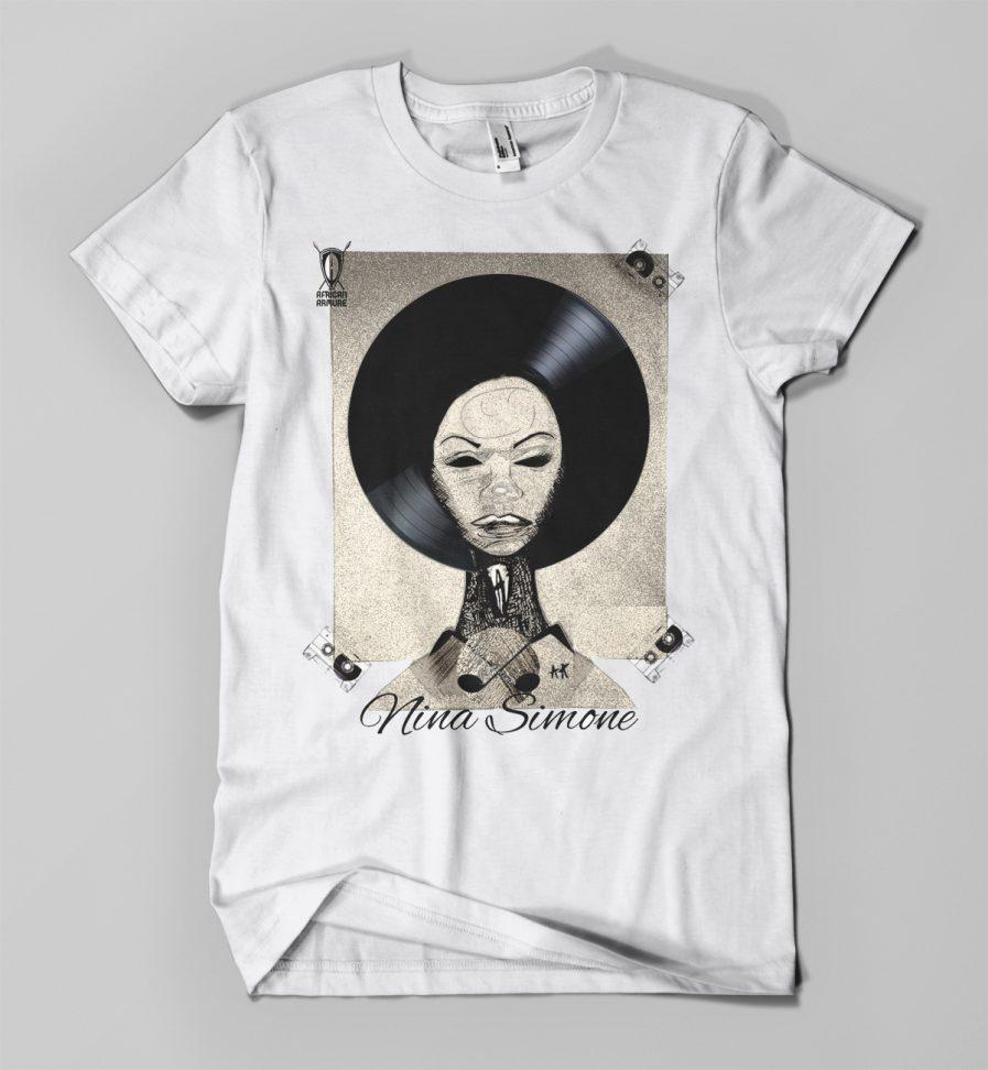T-shirt NINA blanc - Young Nation