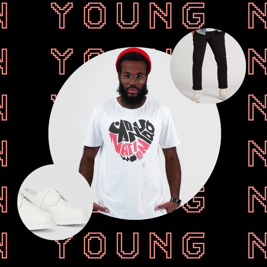 Get the look - Young Nation